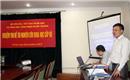 Nghiệm thu đề tài nghiên cứu khoa học cấp Bộ năm  2012