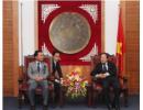 Bộ trưởng Hoàng Tuấn Anh tiếp Hiệu trưởng Trường ĐH Taekyeung Hàn Quốc và Chủ tịch Quỹ giao lưu Quốc tế Nhật Bản