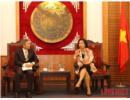 Thứ trưởng Đặng Thị Bích Liên tiếp và làm việc với Tham tán văn hóa Trung Quốc