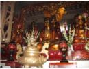 Các loại hiện vật và cách thức sắp đạt truyền thống trong các di tích tín ngưỡng dân gian