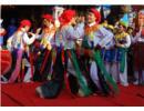 Những điệu múa cổ trong hội làng Triều Khúc
