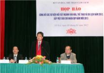 Công bố 10 sự kiện văn hóa, thể thao và du lịch nổi bật năm 2012