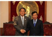 Bộ trưởng Nguyễn Ngọc Thiện tiếp Đại sứ Nhật Bản