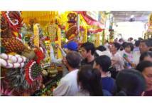 Rực rỡ đèn hoa tại đại lễ của đạo Cao Đài
