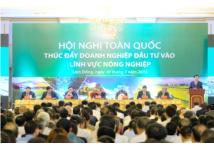 Hội nghị thúc đẩy đầu tư vào nông nghiệp