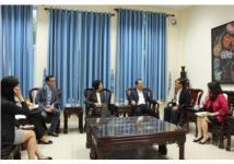 Lễ ký Thỏa thuận hợp tác giữa Viện Văn hóa Nghệ thuật quốc gia Việt Nam và Viện Chấn hưng giáo dục văn hóa Nghệ thuật Hàn Quốc